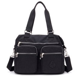 Nylon Totes Bags Australia - Waterproof Women Tote Messenger Bag Nylon Handbags Mummy Shoulder Bag Baby Dipper Crossbody Bag Large Capacity Handbags Bolsa