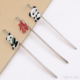China Gifts Souvenirs Australia - Popest Panda Bookmark Student's Gift Chinese Cultural Gifts Reading Bookmark With Opp Bag China Style Souvenir Best Gift