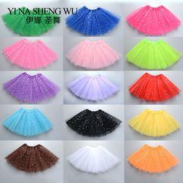 Skirt girl dancing online shopping - Children Tutu Ballet Dance Skirt Ballet Tutu Mesh Dancing Skirt Girls Dance Practice Colorful Kids Pc