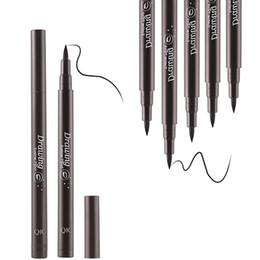 Matte Eyeliner Pens Australia - Quick-drying Liquid Eyeliner Pen Maquiagem Palette Black Color Maquillaje Beauty Sexy Waterproof Long Lasting MakeUp Soild