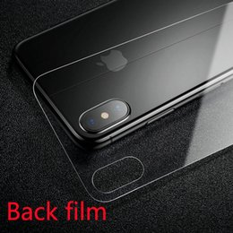 $enCountryForm.capitalKeyWord Australia - 0.3mm Tempered Glass Back Film For iPhone XS XR MAX 9H Hard Prevent Scratching Premium for 6S 7 8Plus Glass Back film