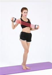 Ingrosso La fabbrica vende dispositivo di tensione in gomma cinque tensione staccabile dispositivo dispositivo di espansione del torace forza braccio attrezzature per il fitness maschile e femminile
