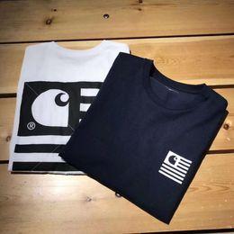 $enCountryForm.capitalKeyWord Australia - HO 3390 New Carhartts logo vintage t shirts Autumn Spring New T-shirt Men Women Pullover Loose Hip Hop Streetwear tee Tops Sizes S-XL