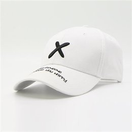 $enCountryForm.capitalKeyWord Australia - New hat Korean version of the male outdoor casual letter cap summer personality tide brand sun hat sun hat