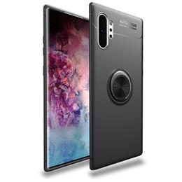 $enCountryForm.capitalKeyWord Australia - Magnet Finger Ring Kickstand Case For Samsung Galaxy Note 10 Plus Note 10 S10 Plus S10E Note9 S9 Plus S8 S7 Edge A6