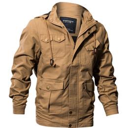 $enCountryForm.capitalKeyWord UK - US Army Clothes Windbreaker Military Field Jackets Mens Winter Autumn Waterproof Flight Pilot Coat Hoodie Three colors JK26011