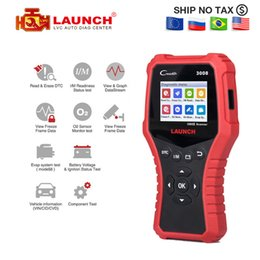 Obd2 cOde reader creader online shopping - LAUNCH Creader Scanner support full obd2 Battery tester function CR3008 OBDII code reader OBD diagnostic tool free update