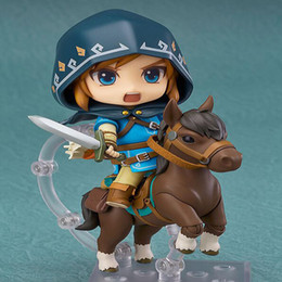 $enCountryForm.capitalKeyWord Australia - The Legend of Zelda link action figure #733-DX Breath of the wild Ver. anime collection Nendoroid cartoon toy gift