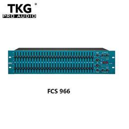 TKG BSS FCS966 Egaliseur audio FCS 966 Filtre passe-haut BSS FCS966 Égaliseur graphique double 30 bits égaliseur audio karaoké