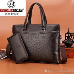$enCountryForm.capitalKeyWord Australia - Factory wholesale brand bag Embossed Leather Laptop Bag Fashion Leisure multifunctional leather briefcase exquisite diamond handbag business