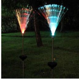 $enCountryForm.capitalKeyWord NZ - Outdoor Optical Fiber Light Garden Light Novelty Solar Powered Color Change LED Lawn Night Decorative Lamp