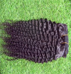 black hair perm curly 2019 - Black Color Brazilian Virgin Hair Weave Bundles 100% Human Hair Weave 10-30 Inchs Curly Hair Bundles discount black hair