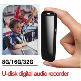 $enCountryForm.capitalKeyWord Australia - Small Digital Voice Recorder USB Flash Drive 8GB 16GB 32G Professional Voice Activated Recorder Pen U Disk Audio