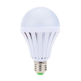 Smd Light Globe UK - E27 leb light bulbs intelligent rechargeable emergency light Bulb Lamp SMD 5730 5W 7W 9W 12W led lights