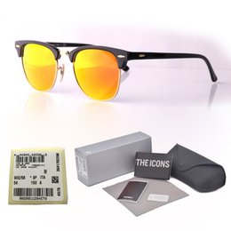 ac6b29fd4a4 Luxury Brand Design Mens Womens Sunglasses plank frame Metal hinge Glass  Lens Cat Eye sun glasses uv400 Goggle With original cases and label. NZ 24.45  ...