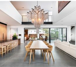 $enCountryForm.capitalKeyWord Australia - Luxury Modern Pendant Light chrome gold aluminum chain Home Decoration Diningroom partment Villa Art Lighting Fixture store shop