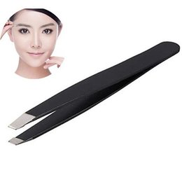 $enCountryForm.capitalKeyWord UK - 35# New Portable Useful Professional Eyebrow Tweezers Hair Beauty Slanted Stainless Steel Tweezer