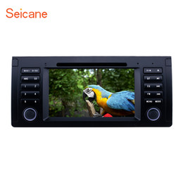 5.7 Inch Touch Screen Australia - 7 inch Android 9.0 GPS Navi Car Stereo for 1996-2003 BMW X5 E53 5 Series E39 with Bluetooth Wifi Music support Rear camera TPMS Car dvd