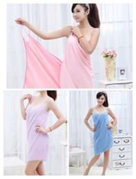 $enCountryForm.capitalKeyWord Australia - 2019 new home textile towel ladies robes bathroom can wear towel bath towel ladies and women quick-drying beach spa magic pajamas sleeping