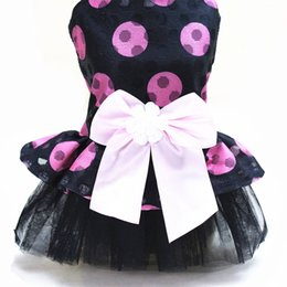 Wholesale lowest price clothing for sale – custom pet dog Tutu dress for small dogs XS S M L XL beautiful clothes for dogs Low Price