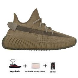 Kanye West Static Running Shoes white shoes New Israfil Cinder Desert Sage Earth Tail Light Zebra Womens Mens Trainers Sneakers Size 13 on Sale