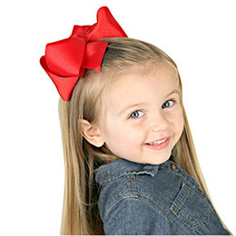 Big comBs online shopping - Pack in Grosgrain Ribbon Hair Bows Baby Girl s Clips Large Big Hair Bows Clips For Baby Girls Teens Toddlers