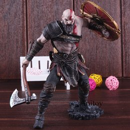 god war figures Australia - Kratos God Action Figures Kratos God of War 4 Toys Game Figure Statue Gift Toy for Children 20cm