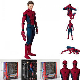 $enCountryForm.capitalKeyWord NZ - The Marvel Legends MAF047 Spiderman Super Hero The Amazing Spider Man PVC Action Figure 15cm 6""