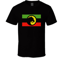 Wholesale Black Panther Wakanda Forever Africa Flag T Shirt Mens Black Gift New From Us T Shirt Men Man s Best Deals Custom Short Sleeve Big Size Men