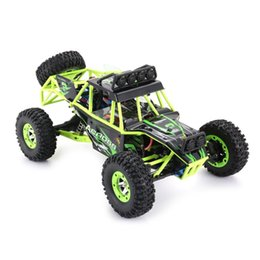 toy rc drift car UK - Wltoys12428 Adult 1 12 RC race car off-road vehicle waterproof 4WD 50Km h High Speed 2.4G EU US Plug 540Brushed Motor Drift Car