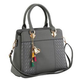 $enCountryForm.capitalKeyWord UK - Fashion Women Handbags Tassel PU Leather Totes Bag Top-handle Embroidery Crossbody Bag Shoulder Lady Simple Style Hand Bags