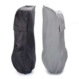 $enCountryForm.capitalKeyWord Australia - Golf Bag Men Black Gray Golf Rain Cover For Shoe Bag Dust-proof Water Resistant Anti-static Case Shield Protector Oxford Cloth