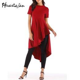 $enCountryForm.capitalKeyWord Australia - Huaxiafan Dovetail Dress Women Asymmetrical Summer Casual Dresses Woman Party Night Elegant Dress Plus Size Womens Clothing 2019