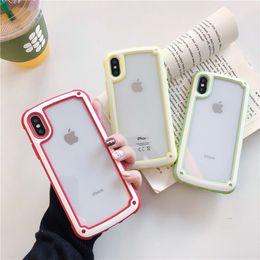 $enCountryForm.capitalKeyWord Australia - For iPhone X 8 7 6 Plus Xs Xr Xs Max Phone Case Cartoon Transparent Cute Popular Dirt-resitant Durable Anti-Slip Fingerprint Protective Case