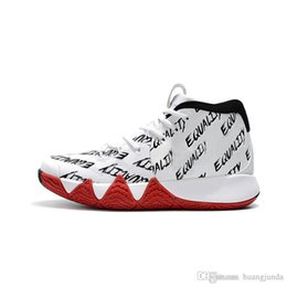 184de2df2628 Cheap new 2018 Mens Kyrie Irving 4 basketball shoes BHM Fall Foliage Green  Red Zoom Air 4s IV sports sneakers with original box for sale