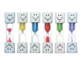 $enCountryForm.capitalKeyWord UK - 3 minutes toothbrush timer kids tooth brushing hourglass smile face children sand clock for tooth brush many color