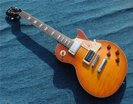 $enCountryForm.capitalKeyWord Australia - Free shippingNew Jimmy Page Guitar JP #2 1958 VOS Fat Neck straight flamed lemon burst Honey Burst Electric Guitars One piece neck Mahogany