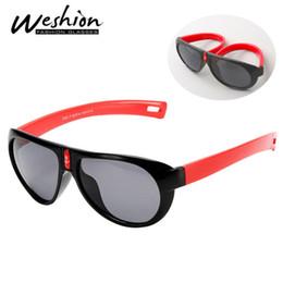 65a811ba86f2 Flexible Frame Sunglasses Australia - Kids Sunglasses Polarized TR90  Flexible Safety Frame Shades Fashion Eyewear Children