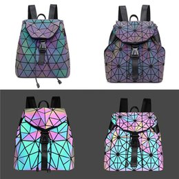 hand bag printed Australia - Nopersonality Penguin Printed Big Women Pu Luminous Backpack Custom Designer Women Large Hand Bag Ladies Female Shoulder Bag #685