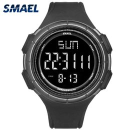 Discount watch orologi - SMAEL Men Big Digital Watch Waterproof Outdoor Sports Watches Men Multifunction LED Wristwatches Men's Watches orol