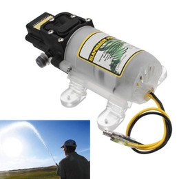 portable car washers 2019 - 12V 45-60W Micro Electric Diaphragm Water Pump 4L min Self Priming Portable High Pressure Car Washer Sprayer Pressure Sw