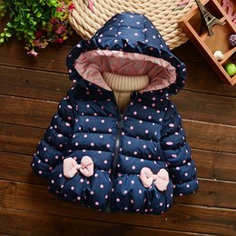 $enCountryForm.capitalKeyWord NZ - Autumn Winter Hooded Jackets Overalls For Newborn Girl Fashion Warm Clothing Outerwear Toddler Baby Down Coats Cotton Clothes