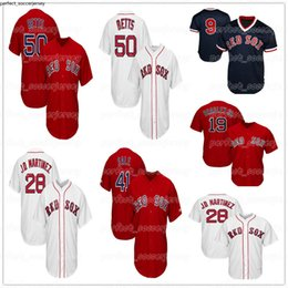 $enCountryForm.capitalKeyWord Australia - Boston jersey Red Sox 28 JD Martinez 9 Ted Williams 34 David Ortiz 15 Dustin Pedroia 50 Mookie Betts Baseball embroidery Jerseys