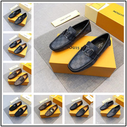 Shoe Models For Men Australia - New! 27 model Luxury Designer Leather Brogue Mens Flats Shoes Casual British Style Men Oxfords Fashion Brand Dress Shoes For Men Big Siz