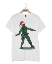 $enCountryForm.capitalKeyWord UK - BATCH1 TOY SOLDIER WITH CHRISTMAS HAT NOVELTY FESTIVE XMAS MENS T-SHIRT Funny free shipping Unisex Casual