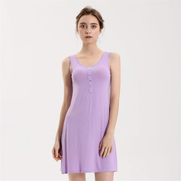 $enCountryForm.capitalKeyWord Australia - Women Nightwear Nightdress Sleeveless Nightgown Sexy Sleepwear Short Home Dress Clothing Intimate Lingerie Sleep Shirt
