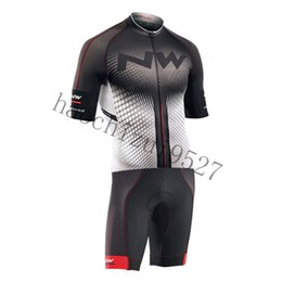 Cycle Suits Australia - NW Northwave Men Cycling Skinsuit Set MTB Shirt  shorts suit Breathable Bike Clothing Kit Quick Dry Cycling Jersey Ropa Ciclismo Mujer