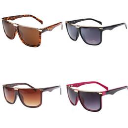 e7048836301c Leopard Print Eyeglasses UV Proof Sunglasses Oversized Square Sun Glasses  Retro Man Women Unisex Plastic Vintage 8 8bj D1