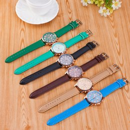 $enCountryForm.capitalKeyWord Australia - Luxury Woman Dress Wristwatches Fashion Unisex PU Band Quartz Watches Men Business Roman Numerals Analog Watch TTA976