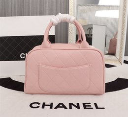 french bags brands 2019 - New French high-end brand ladies handbag fashion leather business casual party travel women's bowling bag handbag f